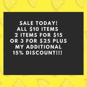 SALE TODAY!!!!